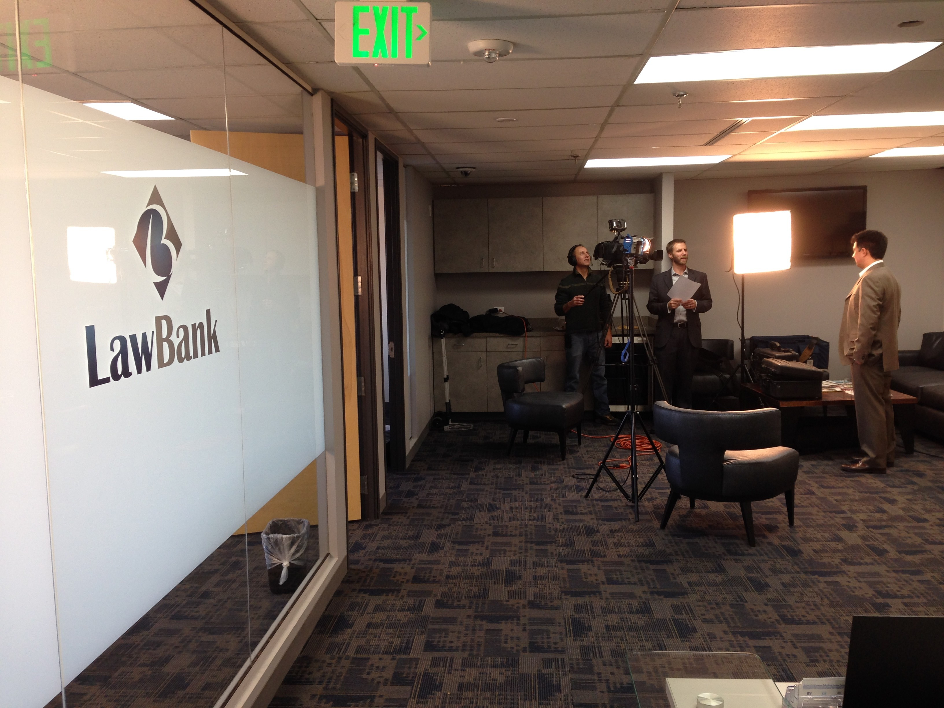 Behind the Scenes with the LawBank Video Campaign
