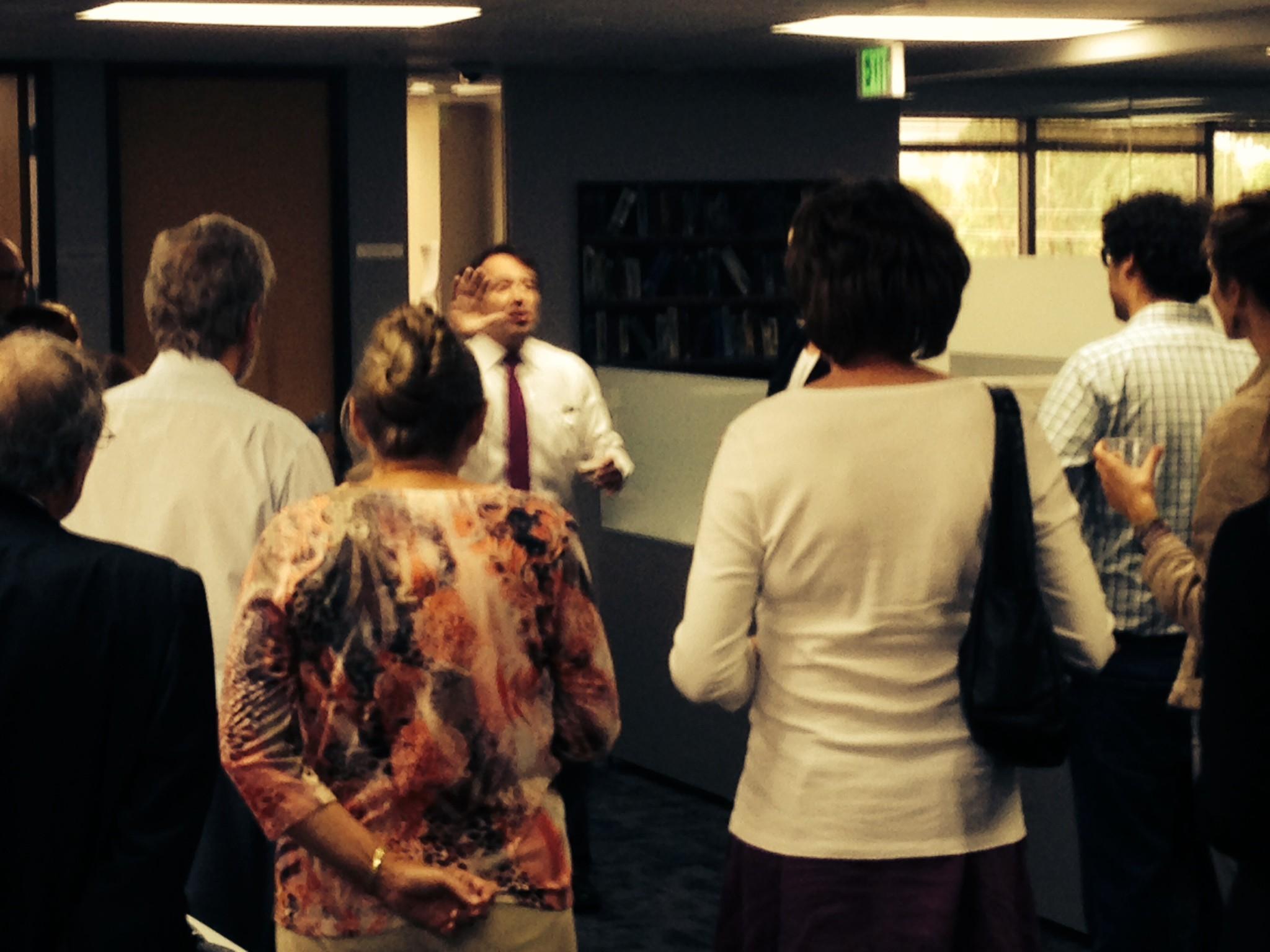 Rep. Daniel Kagan Visits LawBank to Celebrate House Bill 1032