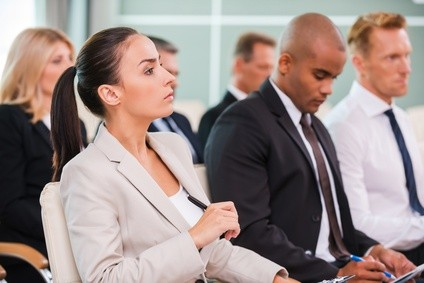 Attend conferences to build a law practice