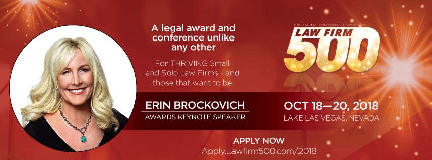 2018 Law Firm 500 Award